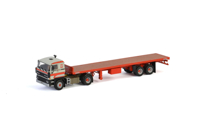 DAF 3600 4x2 CLASSIC FLAT BED TRAILER - 2 AXLE Transport Bialek & Fills (арт. 01-2893)