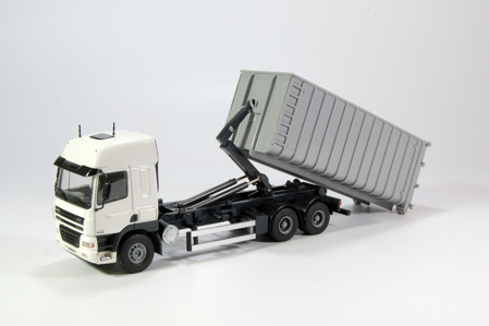 DAF  T.B. DAF CF Space Cab met haakarm container  (арт.  54955)