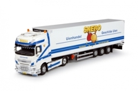DAF EURO 6 XF SUPER SPACE CAB WITH REEFER SEMITRAILER SNEBO (АРТ. 65884-В)