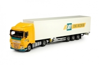 DAF EURO 6 XF SPACE CAB WITH BOX SEMITRAILER RIJKE, DE (АРТ. 70138-В)