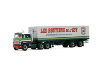 MACK F700 6X2 CLASSIC CURTAINSIDE TRAILER - 2 AXLE Transport Bomo (арт. 01-3020)