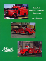 FDNY MACK L-MODEL APPARATUS, John A. Calderone, 1992  (арт.  BF0930)