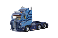 "SCANIA 3 SERIES STREAMLINE 6X2 ""German Supertrucks"" with numbered certification card Schumacher (арт. 01-3060)"