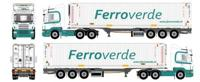 Scania R-serie with D-Tec Flexitrailer 45ft Container.  Ferroverde   (арт.  62788)