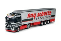 Mercedes Actros LH with curtainside semi-trailer.   Kay Schultz  (арт.  62372)