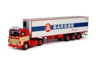 Scania 141 with reefer semitrailer.   Barsoe   (арт.  62592)