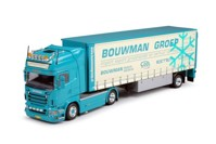 Scania R-serie Topline tractor with semi-trailer.  Bouwman Groep   (арт.  63195)