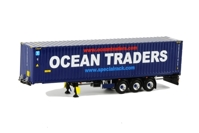 Container Trailer (3 axle) & 45 FT Container   Ocean Traders  (арт.  9842)
