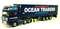 DAF XF 105 Super Space Cab +Container Trailer (3 axle) & 45 FT  (арт.  00-0001)