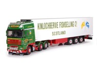 DAF XF105 Super Space Cab with reefer semitrailer.  Kinlochbervie   (арт.  62313)