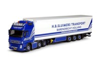 Volvo FH02 Globetrotter XL with reefer semitrailer.   Sluimers   (арт.  63292)