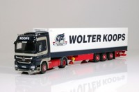 Mercedes-Benz Actros LH (MP03)with reefer semitrailer.  Koops, Wolter  (арт.  62208)