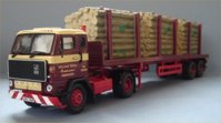Volvo F88 4x2 Flatbed & Logs, Nicol. (арт. 13102)