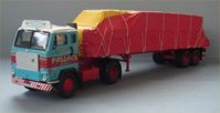 Volvo F88 Flatbed & Sheeted Load, Pollock. (арт.  13107)