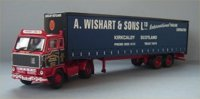 Volvo F88 4x2 Curtainside, Wishart. (арт.  13109)