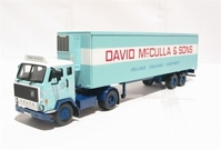 "Volvo F88 fridge trailer ""David McCulla & Sons""  (арт. 13111)"