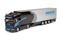 Scania new R-series Topline with reefer trailer.  Gerrits   (арт.  61969)