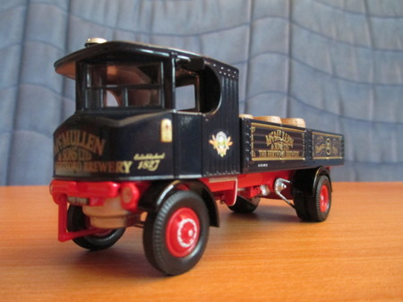 SENTINEL DG4 STEAM WAGON  with BARRELS  McMULLEN BREWERY  (арт.  80006)