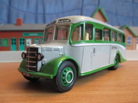 "Bedford OB Coach ""Green Grey""   (арт.  98163)"