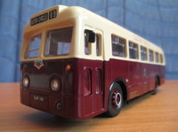 Weymann Single Deck Bus Leicester City  (арт.  97810)