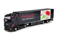 Scania new R-Serie Topline with reefer semitrailer.  Floribunda   (арт.  64018)