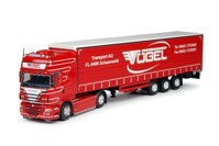 Scania R-serie Topline with curtainside semitrailer  Vögel Schaanwald   (арт.  63969)