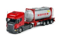 Scania new R-Serie Topline with Swap container  Hoyer  (арт. 62856)