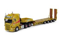 Scania R-serie Highline with Goldhofer semi-lowloader 4 axis Wolters 2013  (арт. 64278)