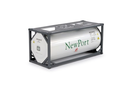 20ft. ISO-tankcontainer  Newport   (арт.  64251)