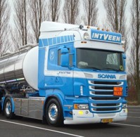 Scania Highline 4x2 with trailer and Swap tankcontainer  Veen, In 't  (арт. 65456)