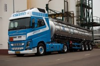 Volvo FH04 Globetrotter XL with tanktrailer  Veen, In 't  (арт.  65455)