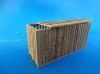Cleated wooden box 40x112x56 mm  (арт.  18280)