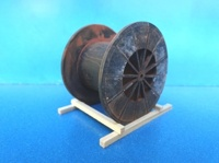 Metal spool -diameter -54 mm  (арт. 19366)