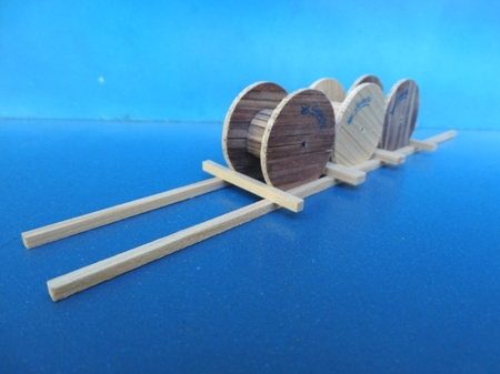 Cable spool - 44x220x35 mm  (арт.  19550)