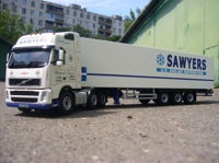 VOLVO FH2 xl 6 x 2 with 3 axle Fridge Trailer  Sawyers Transport PCM/WSI(арт.  9518)