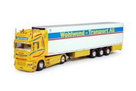 Scania R-Serie Topline with reefer semitrailer  Wohlwend   (арт.  63739)