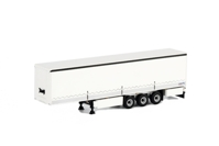 Curtainside Trailer with side boards (3 axle)  (арт.  03-1073)