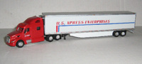 Peterbilt 587 US Express Enterprises  (арт.  SPT3044)