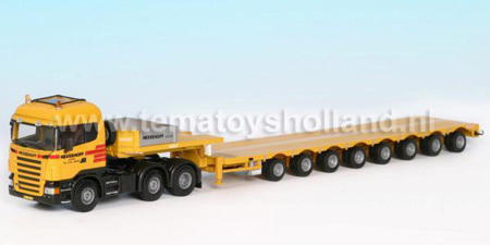 Scania R Highline 6x2 / Mco-8 Nooteboom (арт.  1402)
