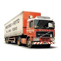Volvo F10 Tautliner Curtainside - Prestons of Potto  (арт.  СС15502)