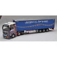 MAN TGX Vinyl Curtainside James CC Ferguson Haulage Contractor  (арт.  СС15204)