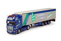 Scania R-serie Topline with curtainside semitrailer  Bischofberger  (арт. 65054)