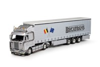 Scania 3-Serie Streamline with curtainside semitrailer  Becatrans  (арт. 65224)
