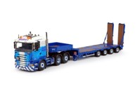 Scania R-Serie Lowline with Goldhofer semi-lowloader 4-axis  Stobart Rail   (арт.  63751)