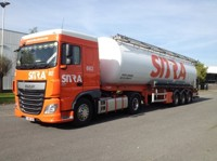 DAF Euro 6 XF Space Cab with silo trailer Boerman  (арт.  65825)