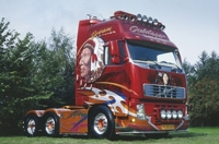 "VOLVO FH2 Globetrotter XL   Guldager ""Dream Catcher""  (арт.  9762)"