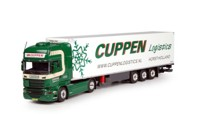 Scania R-Streamline Topline with reefer semitrailer Cuppen  (арт.  67318)