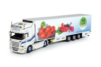 Scania R-Streamline Topline with reefer semitrailer  Andiprim  (арт.  67316)