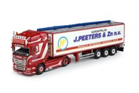 Scania new R-serie Topline with potato-semitrailer. Peeters  (арт.  63225)