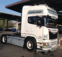 SCANIA R Topline Fabio XL Transport  (арт.  01-1703)